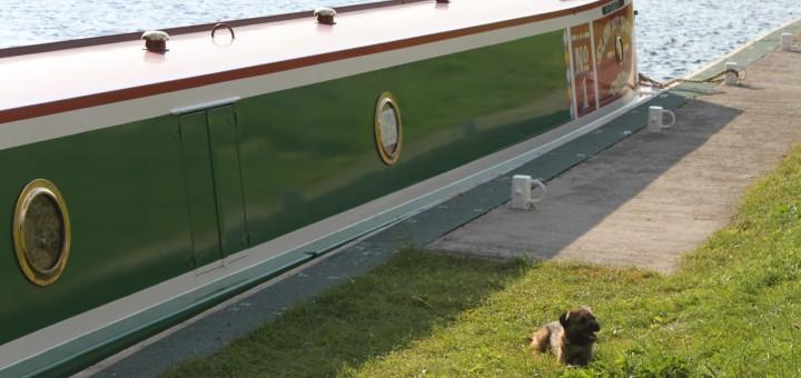 Leo & Narrowboat